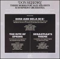Three Works for Jazz Soloists and Symphony Orchestra - Don Sebesky